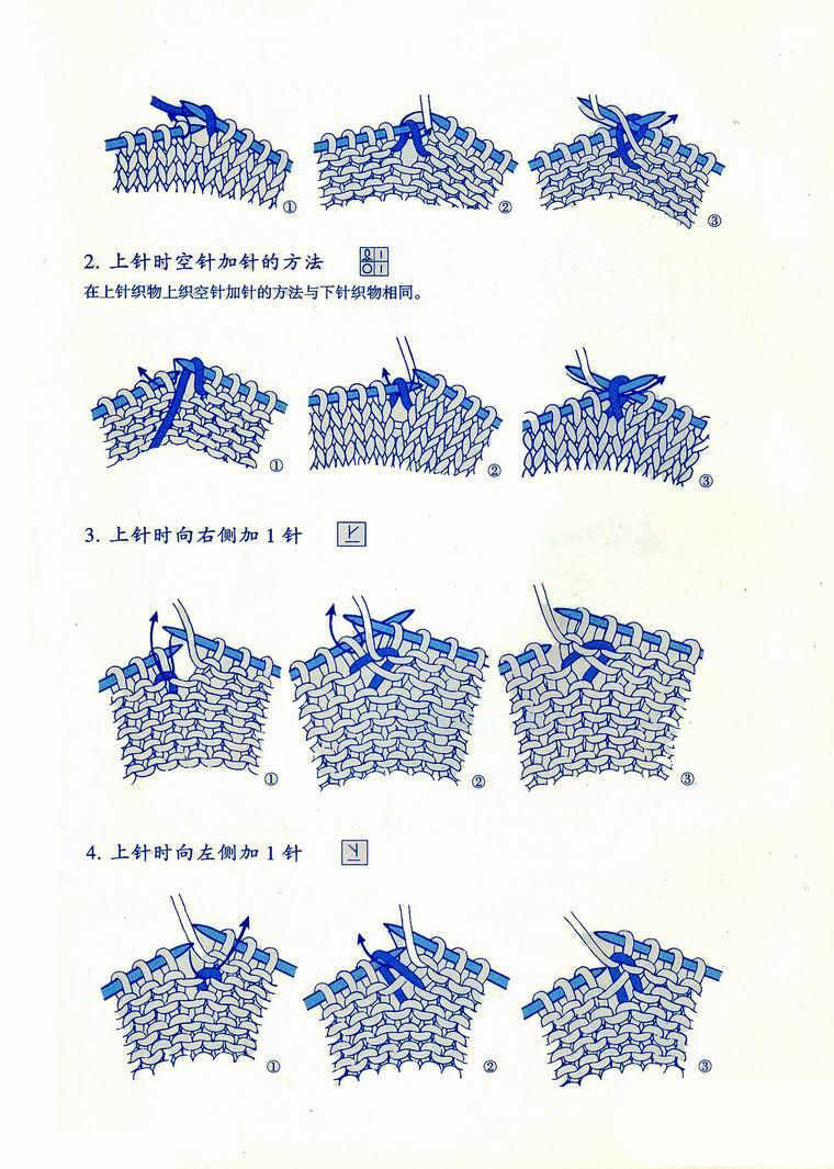 Japanese knitting symbols 9