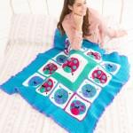 Lucky Ladybug Throw - Free Crochet Pattern