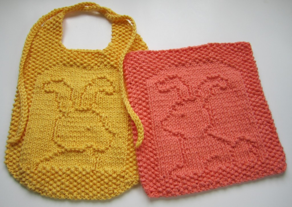 Free Free Easter Dishcloth Knitting Pattern Patterns Knitting Bee
