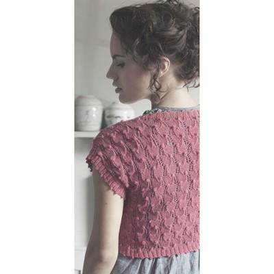 Bobble Edged Shrug Free Knitting Pattern Knitting Bee
