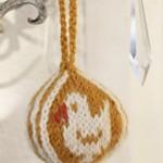 Chick Easter ball Free Knitting Pattern