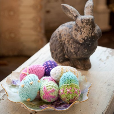 Cotton Supreme Easter Eggs Knit