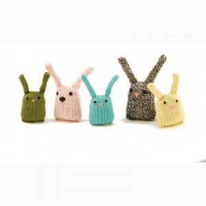 Danger Crafts Bunny Nuggets Free Easter Knitting Pattern