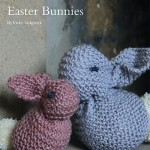 Easter Bunnies Free Knit Pattern