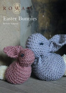 Easter Bunnies free knitting pattern