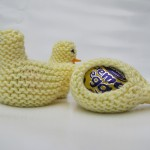 Easter Chick Free Knitting Pattern