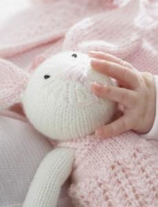 Patons Zoe Bunny Free Knitting Pattern 1