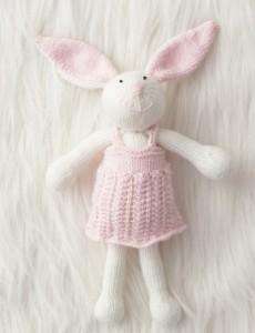 Patons Zoe Bunny Free Knitting Pattern 2