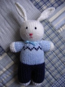 Peter Rabbit Free Knitting Pattern