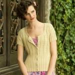 Sans Souci Cardigan Free Knitting Pattern