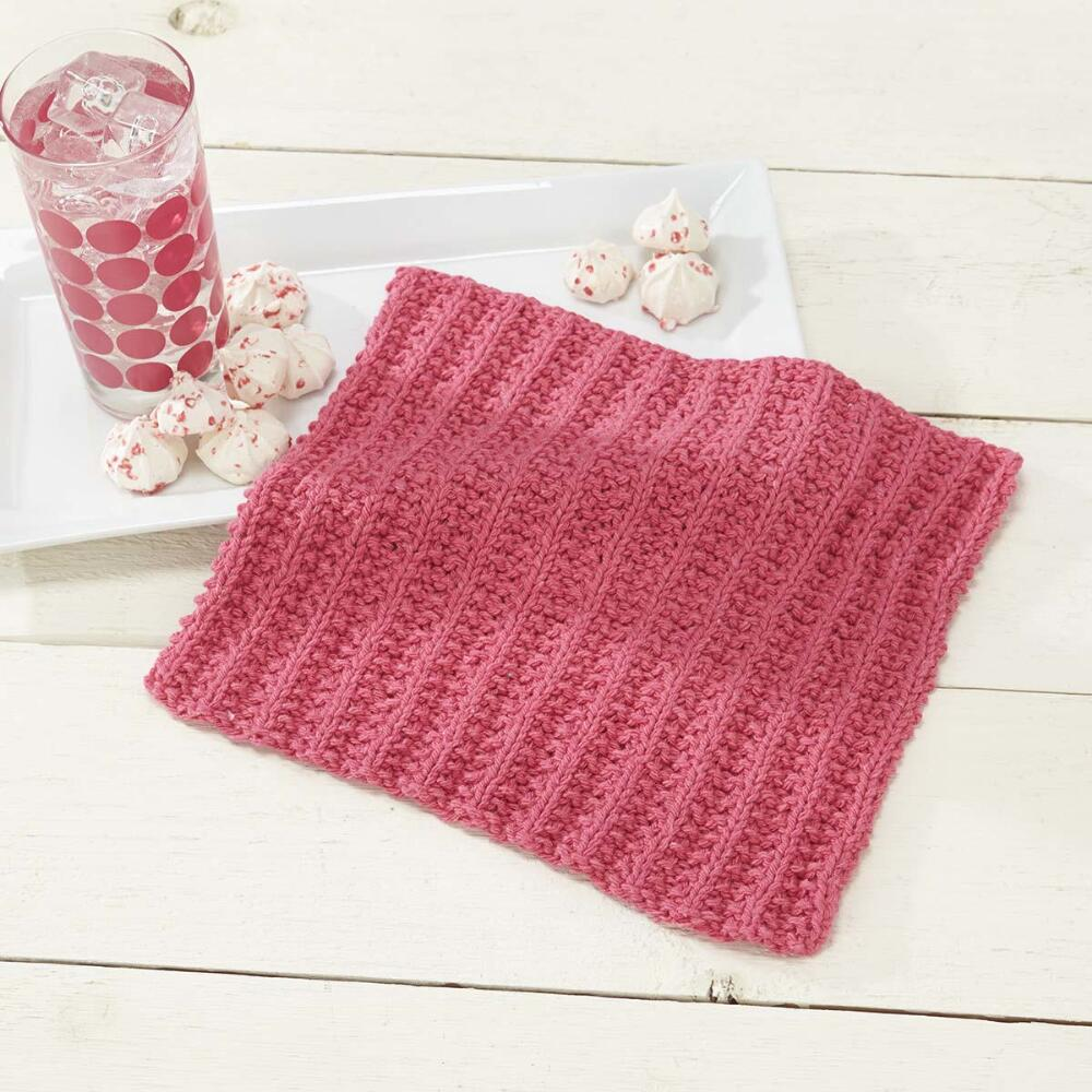 Simple Sorbet Dishcloth Free Knitting Pattern ⋆ Knitting Bee