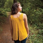 Split Back Tank Free Knitting Pattern