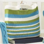 Summer Bag Set - Simple Striped Bag free knitting