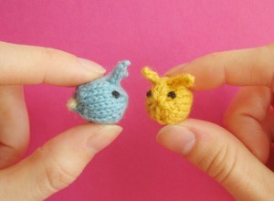 Tiny Baby Bunnies - Free Knitting Pattern