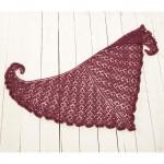 Valentino Shawlette Free Knitting Pattern