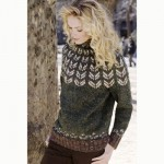 Yoke Pullover Free Knitting Pattern