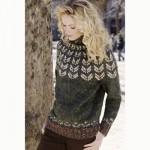 Yoke Pullover Free Knitting Pattern