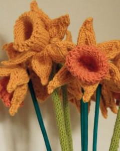 free-daffodils-knitting-pattern