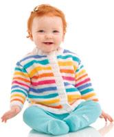 Circus Cardi Free Baby Knitting Pattern