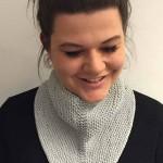 Cleo - Neckerchief Free Knitting Pattern