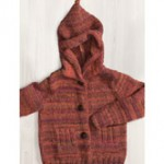 Kids Jacket with Hood Free Knitting Pattern