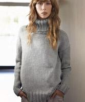 Patons Jumper in 3 Styles Free Knitting Pattern