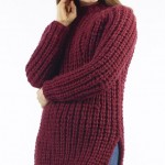 Yana Chunky Ribbed Jumper Free Knitting Pattern