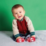 Baseball Jacket Free Knitting Pattern for Baby and Toddlers