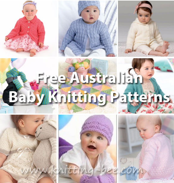77da2398e Baby Knitting Patterns Free Australia ⋆ Knitting Bee