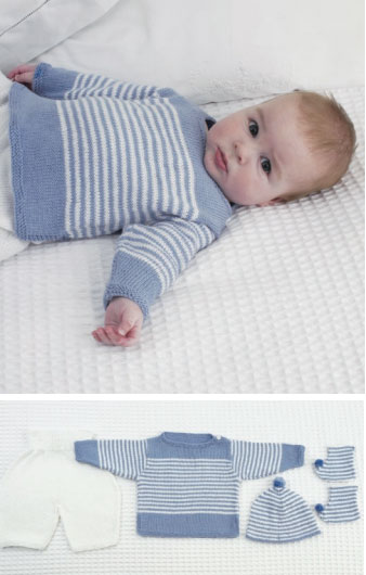 Free Knitting Patterns For Babies 0-3 Months