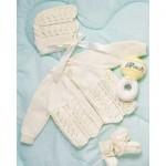 Bernat Baby Layette Free Knitting Pattern