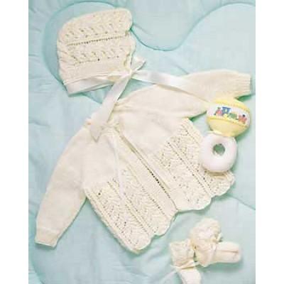 Bernat Baby Layette Free Knitting Pattern Knitting Bee