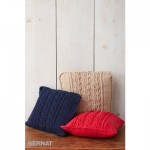 Cable Knit Trio Pillows Free Knitting Pattern