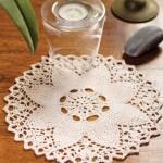 Flower Doily Free Knitting Pattern