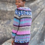 Long Striped Cardigan Free Knitting Pattern