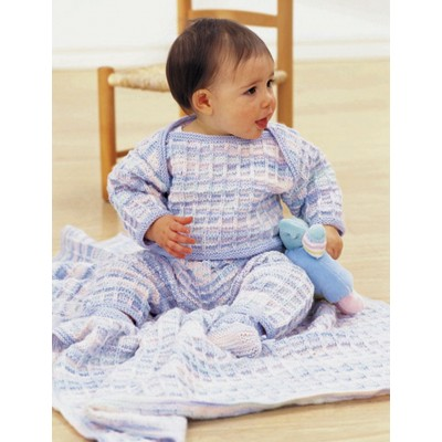 Patons Soft Shades Layette Free Baby Knitting Pattern