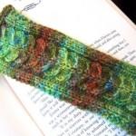 Backbone Bookmark Free Knitting Pattern