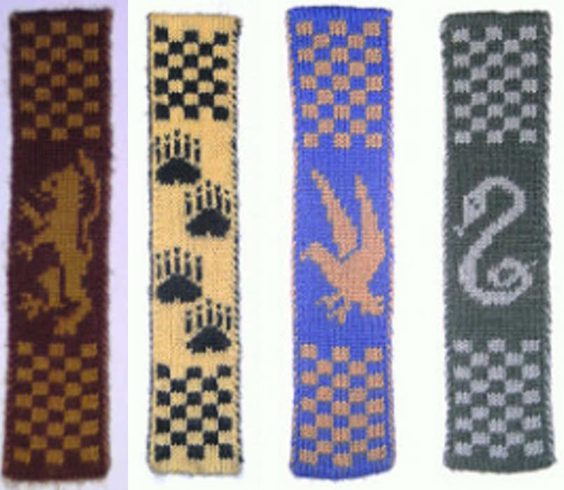 Free bookmark Patterns ⋆ Knitting Bee (5 free knitting patterns)