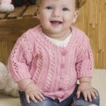 Baby Girl's Sweater Free Knitting Pattern