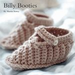 Billy Baby Bootees Free Crochet Pattern