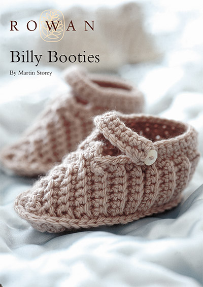Billy Baby Bootees free knitting pattern