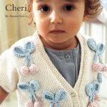 Cheri Baby Bolero Cardigan Free Knitting Pattern