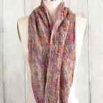 Escama del Dragon Cowl Free Knitting Pattern