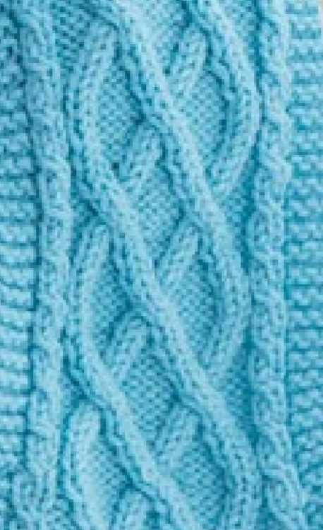 Free Cable Knitting Stitch and Scarf Pattern