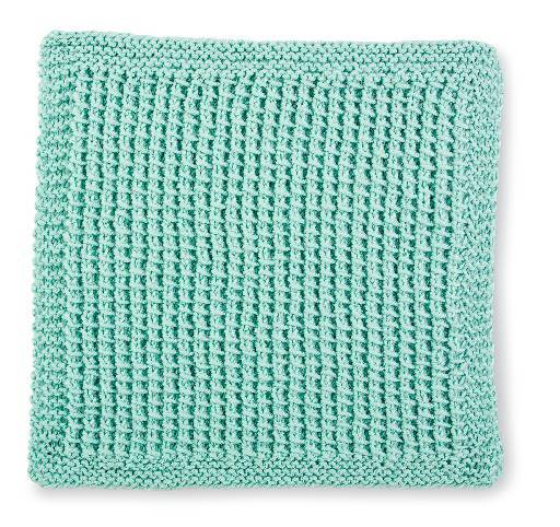 Knitted Stitch Block 3- Easy Peasy Knits & Purls
