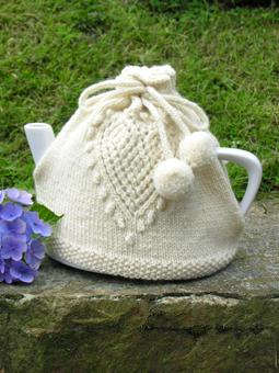Love Tea Cosy Free Knitting Pattern
