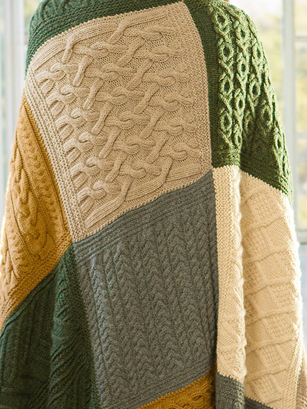 Top 10 Sampler Stitch Afghan Free Knitting Patterns ⋆ Knitting Bee