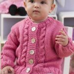 Seeds of Spring Free Baby Sweater Knitting Pattern