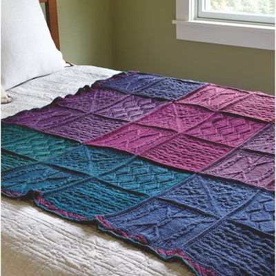Valley Yarns 643 Mystery Knit-A-Long Blanket