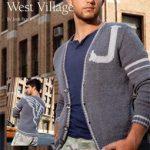 West Village Free Knitting Pattern for Men